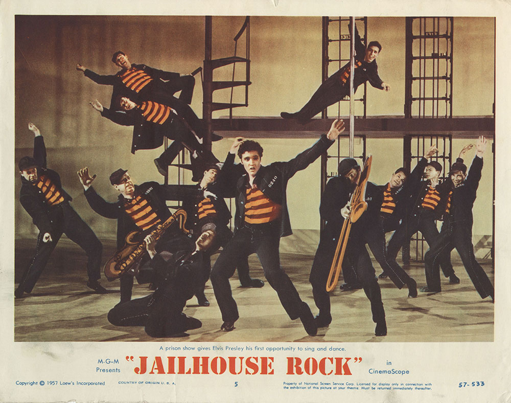 Lobby Card for Jailhouse Rock
