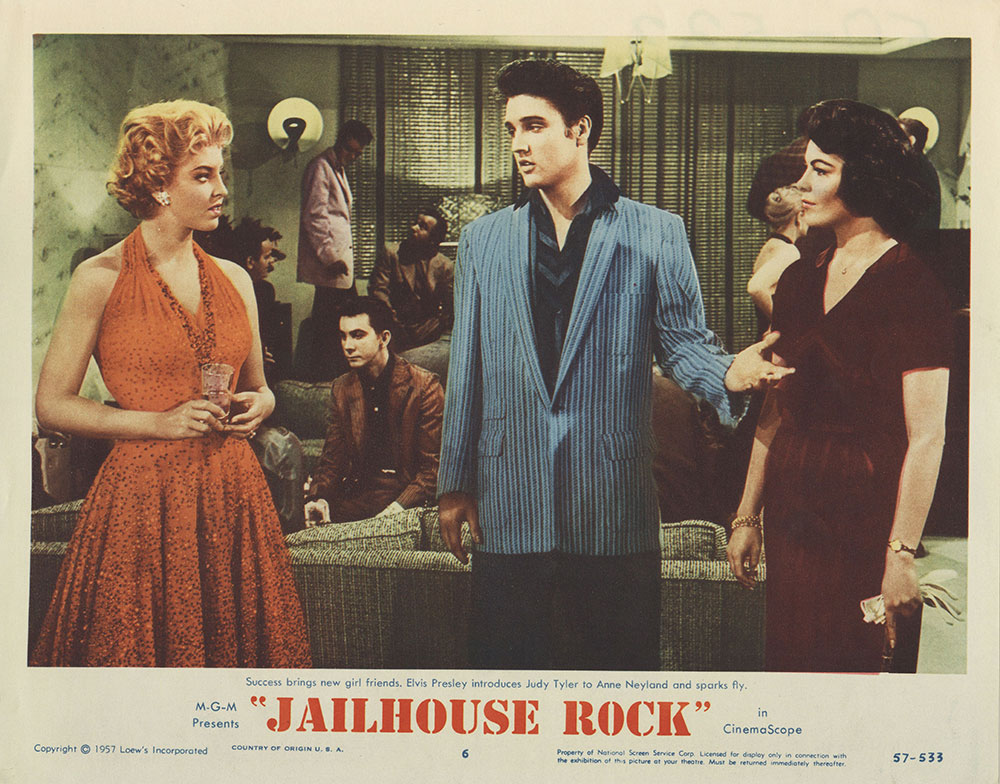 Lobby Card for Jailhouse Rock