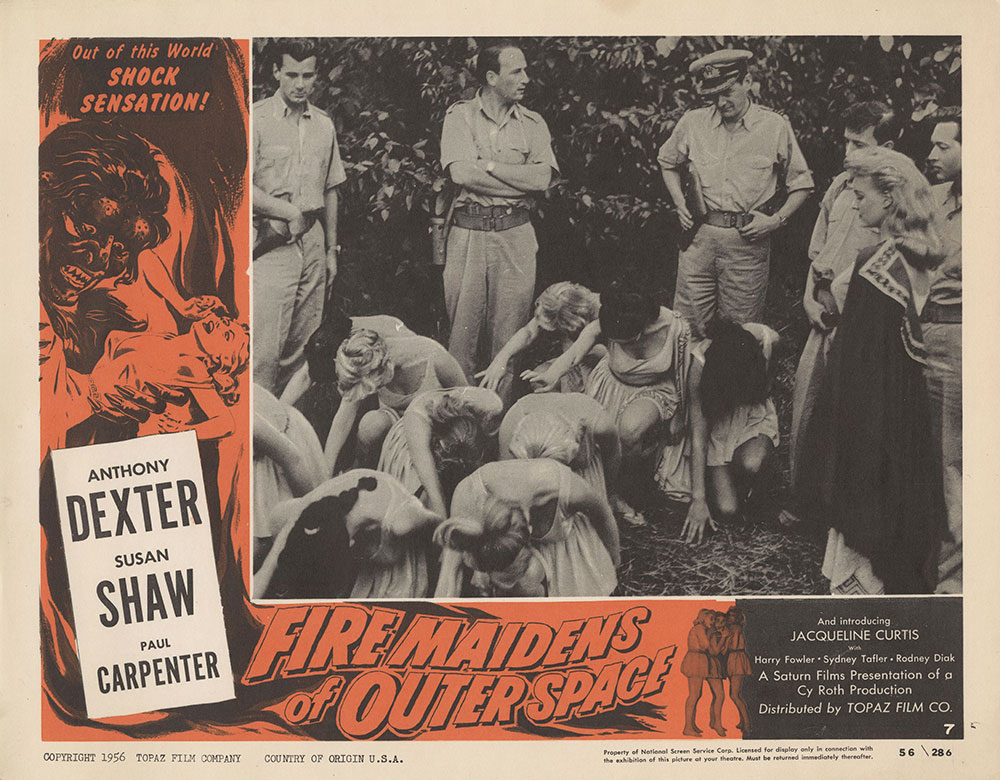 Lobby Card for Fire Maidens of Outer Space