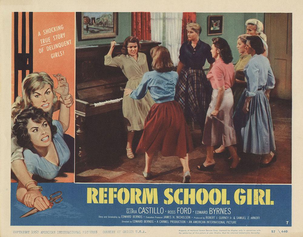 Lobby Card for Reform School Girl