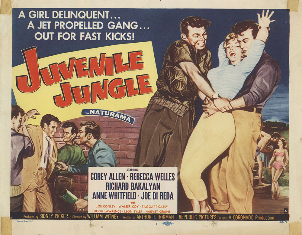 Lobby Card for Juvenille Jungle
