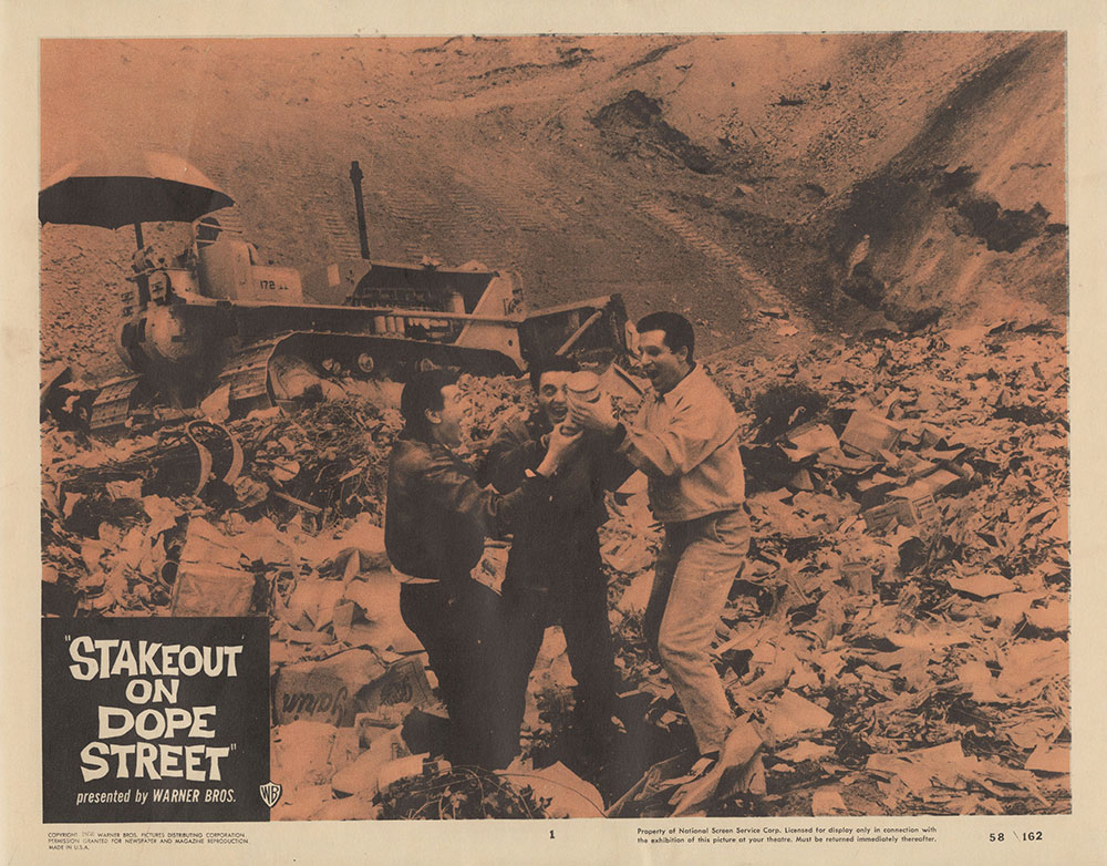 Lobby Card for Stake Out on Dope Street