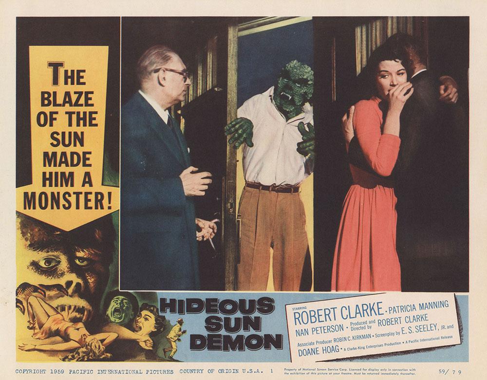 Lobby Card for Hideous Sun Monster