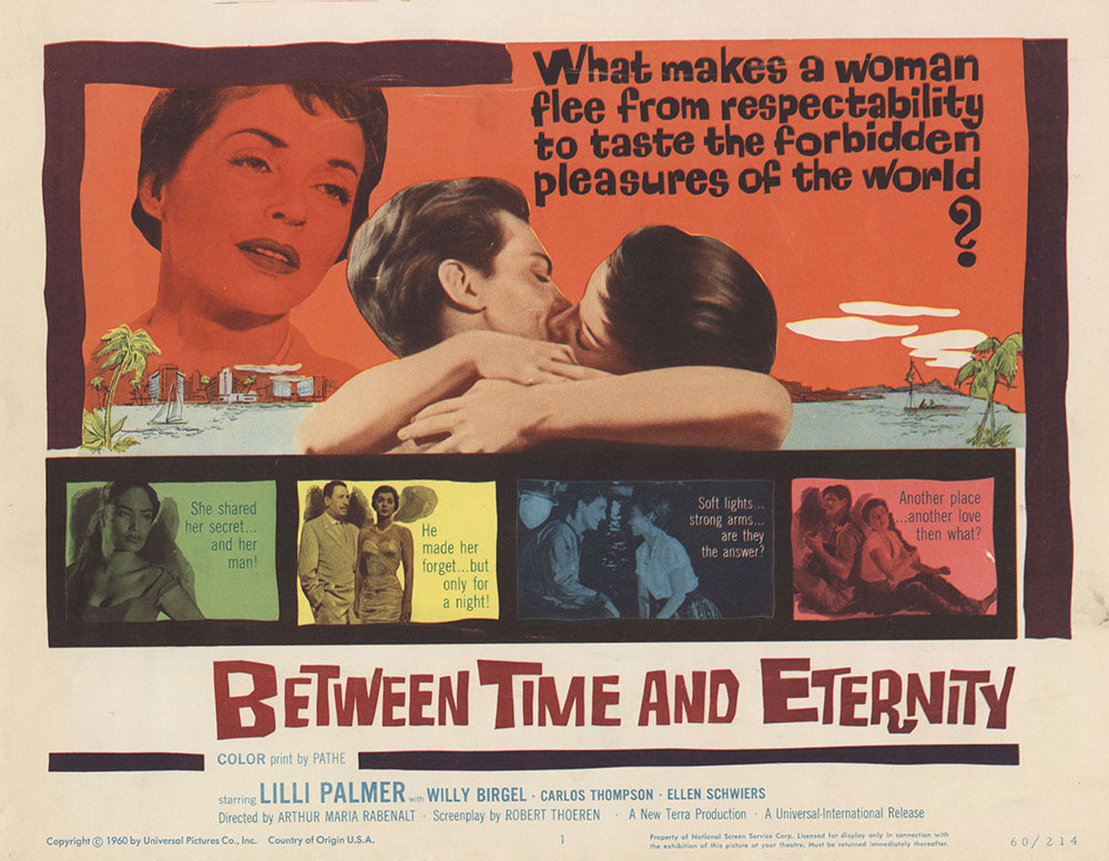 Lobby Card for Between Time and Eternity