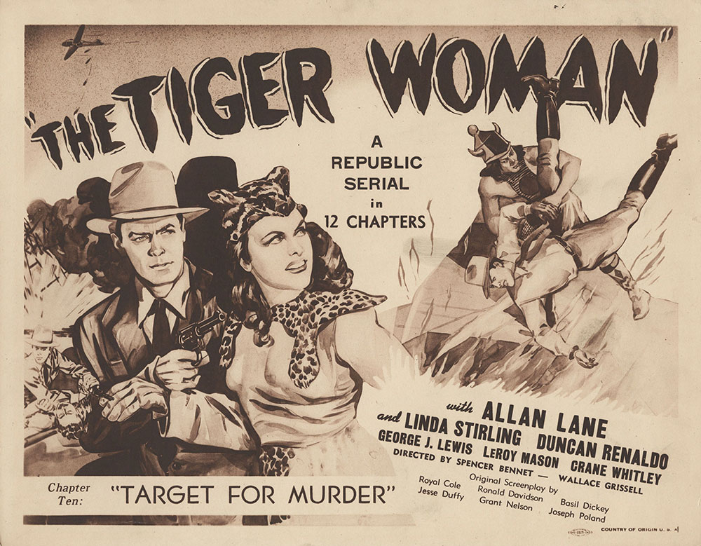 Lobby Card for The Tiger Woman