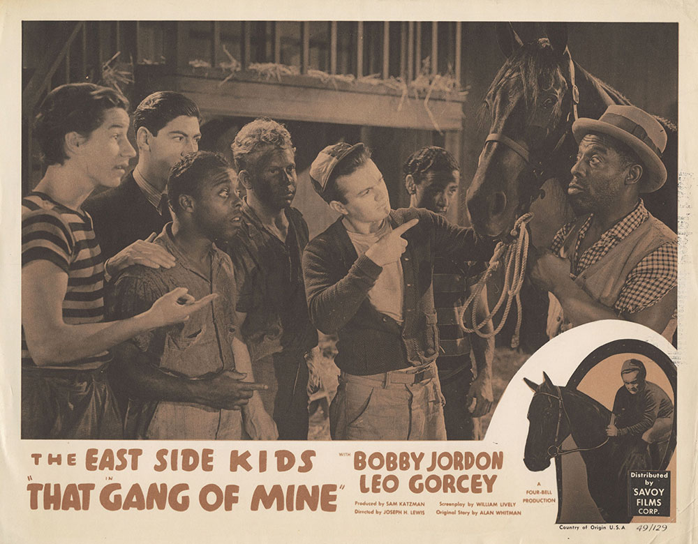 Lobby Card for That Gang of Mine