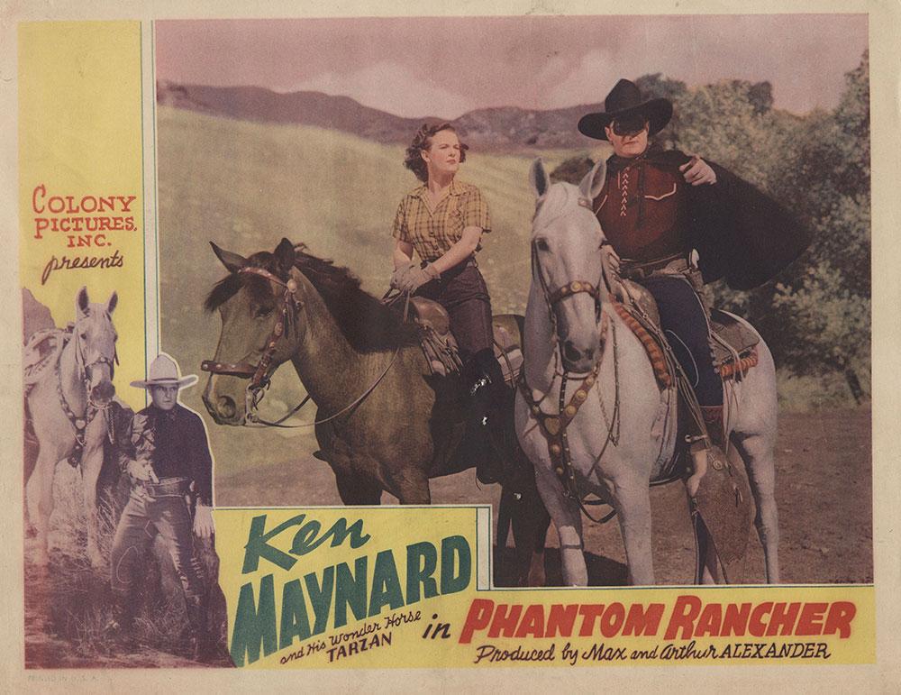 Lobby Card for Phantom Rancher