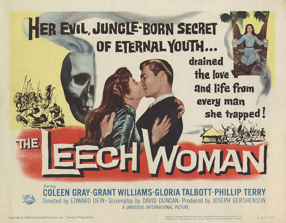 Lobby Card for The Leech Woman