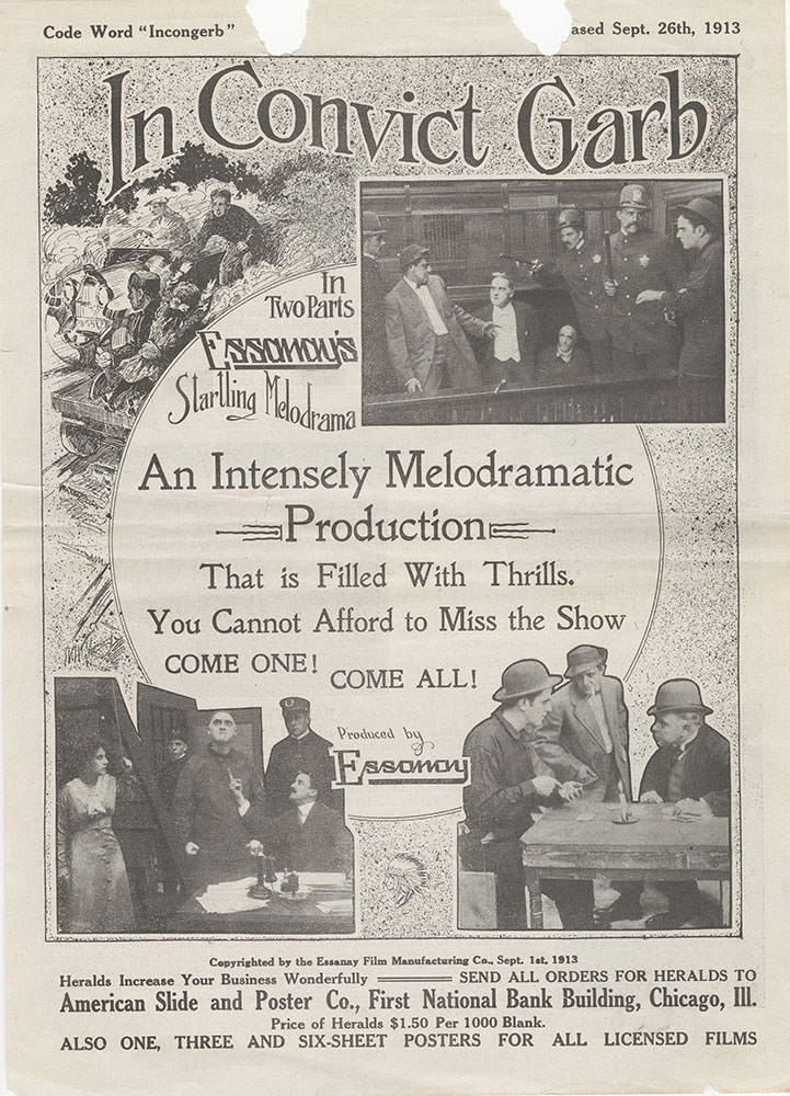 Herald advertisement for