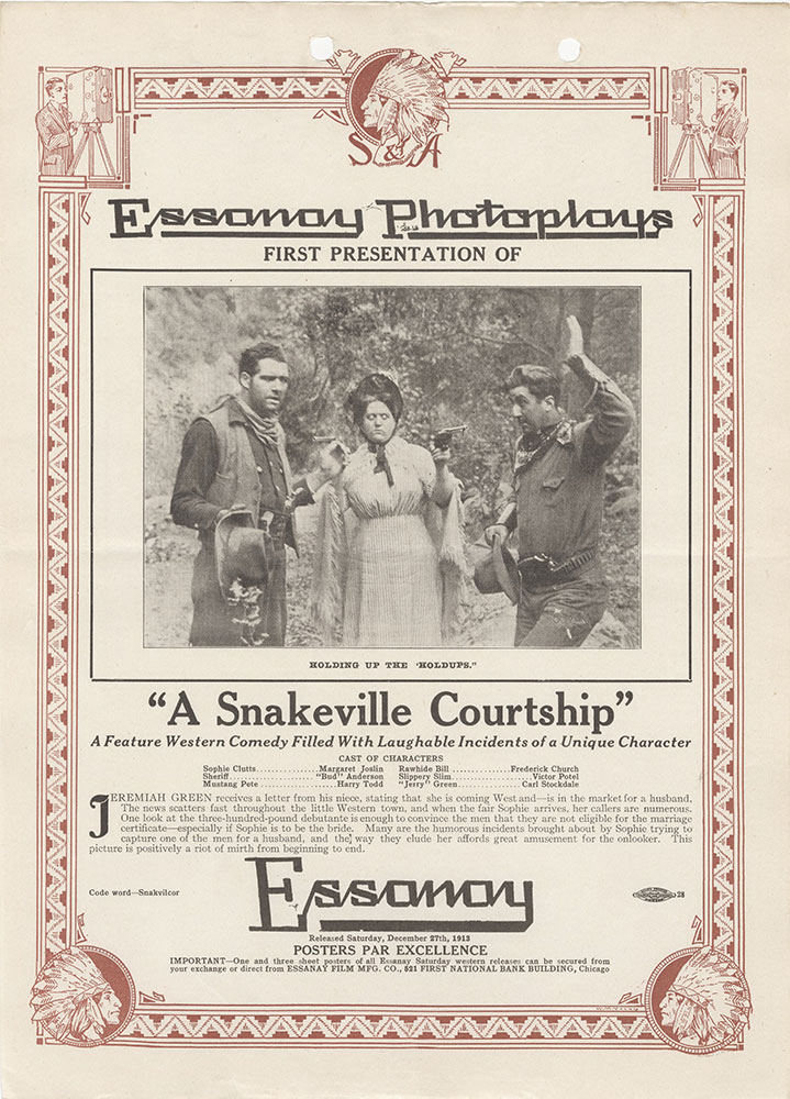 Advertisement for