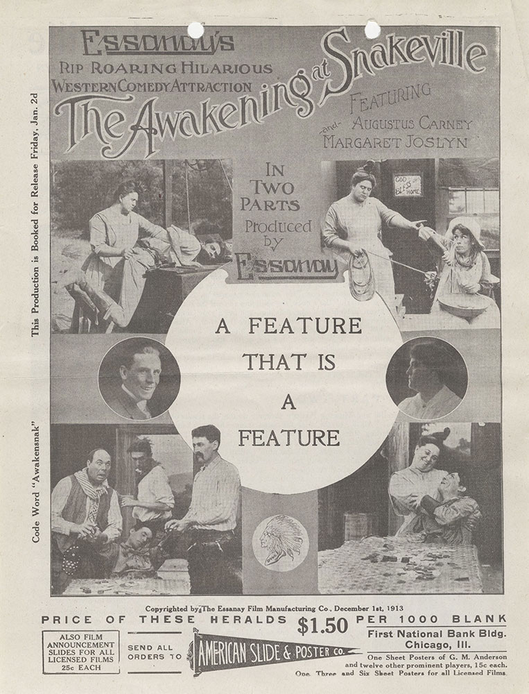 Herald advertisment for