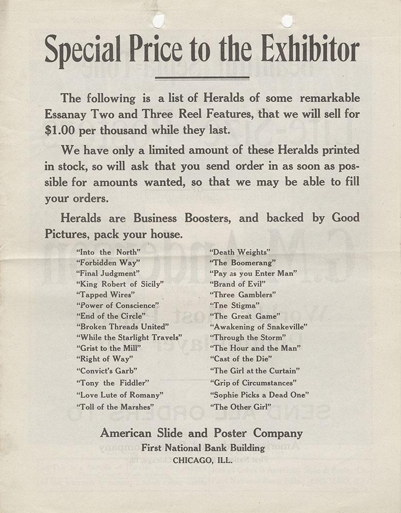 General Herald Advertisement