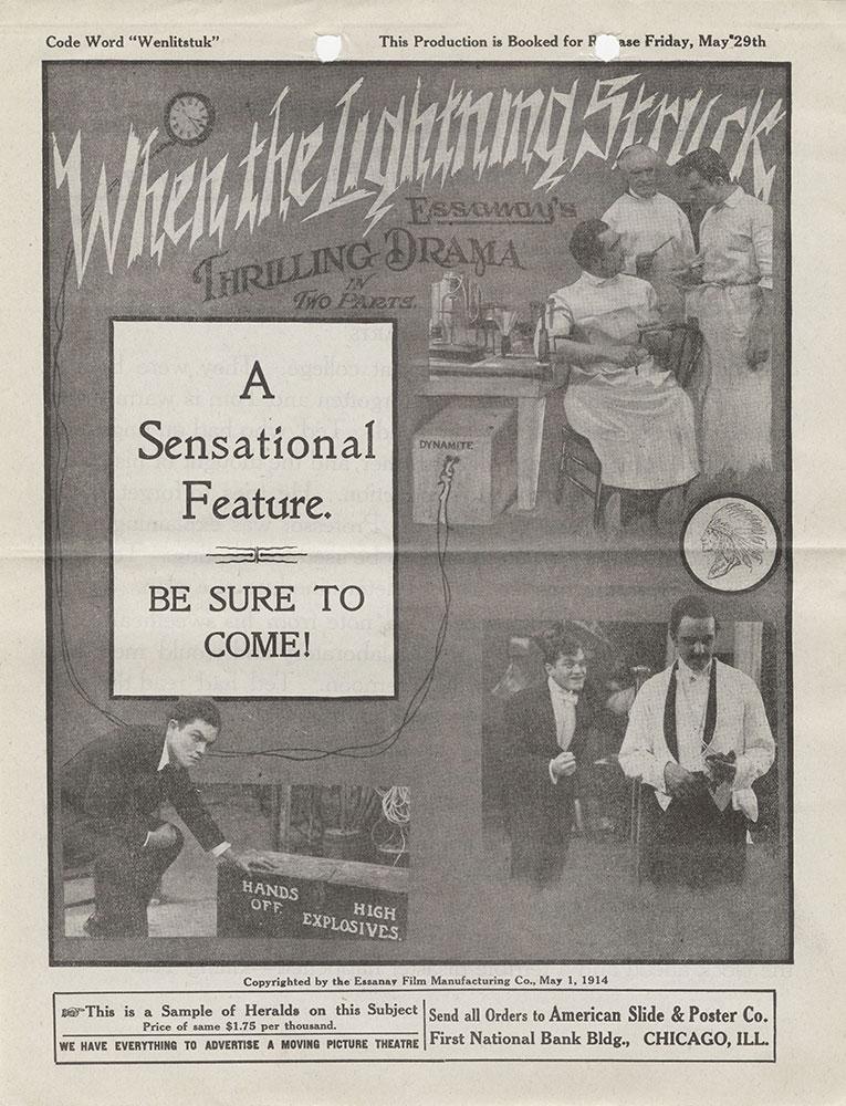 Herald advertisement for