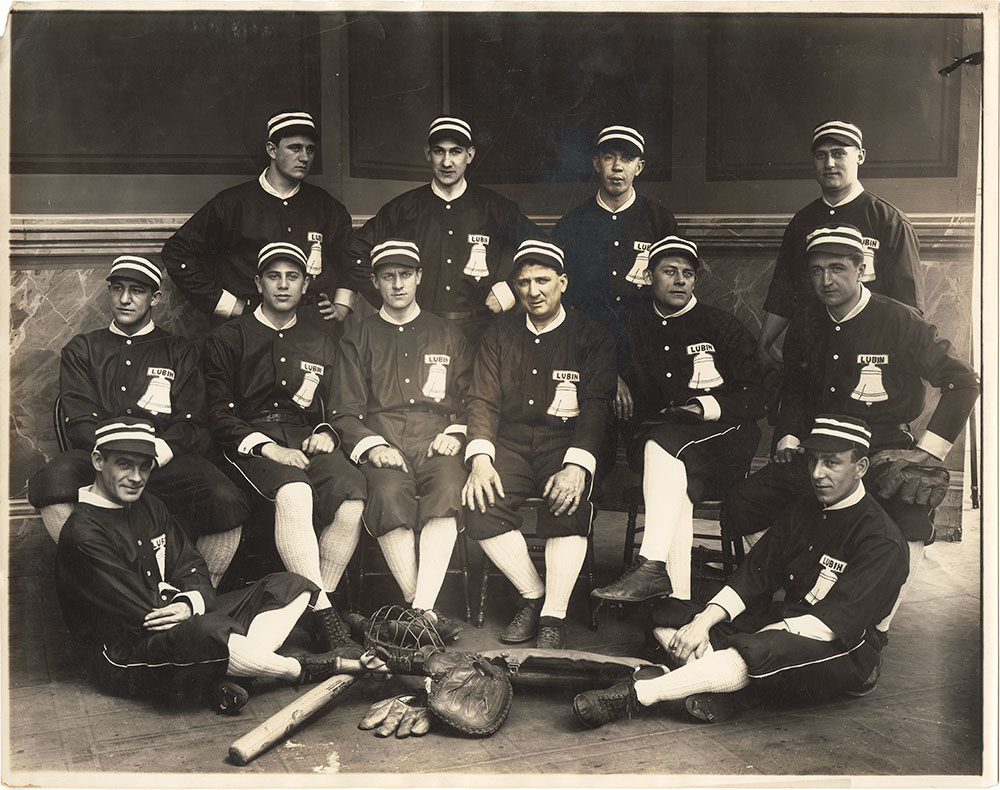 Photograph of Lubin Baseball Team