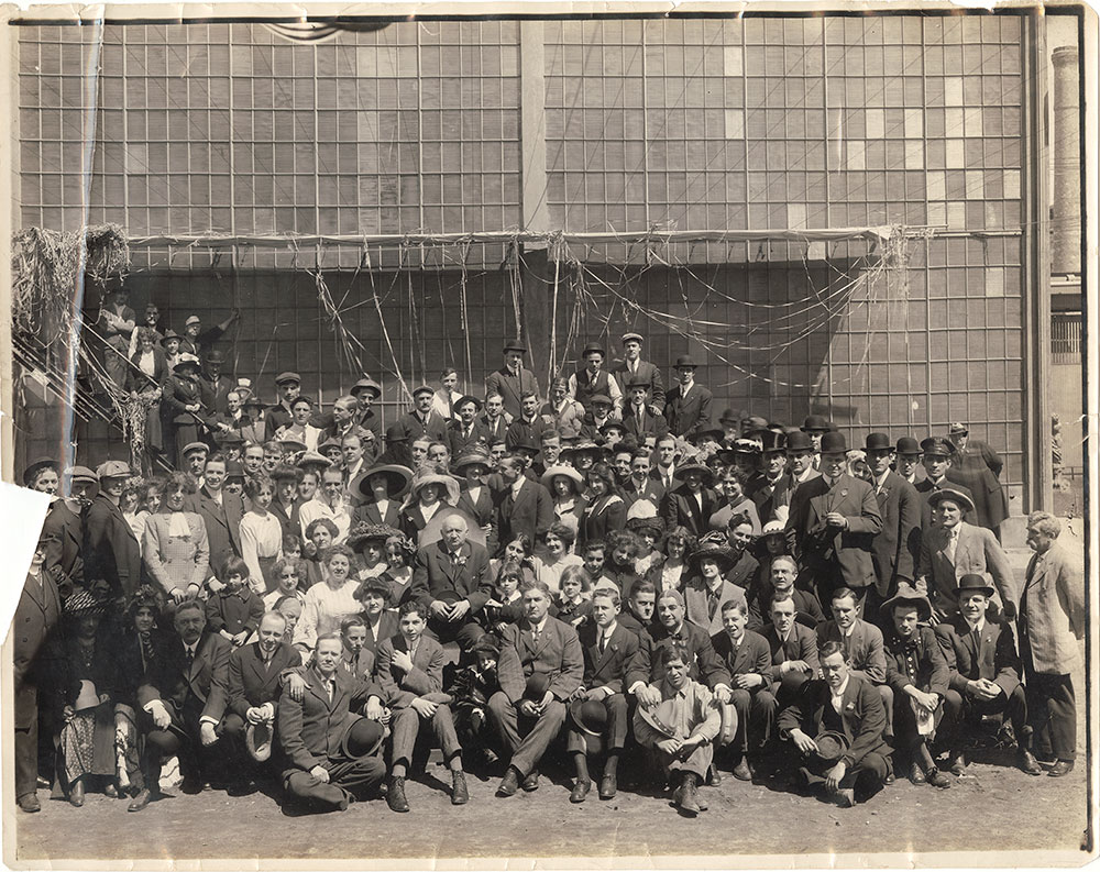 Photograph of Lubin Manufacturing Company Crew