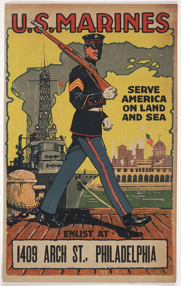 U.S. Marines: Serve America on land and sea