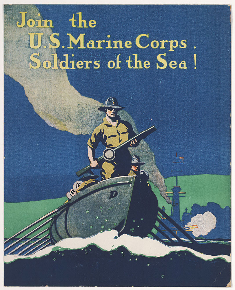 Join the U.S. Marine Corps. Soldiers of the Sea!