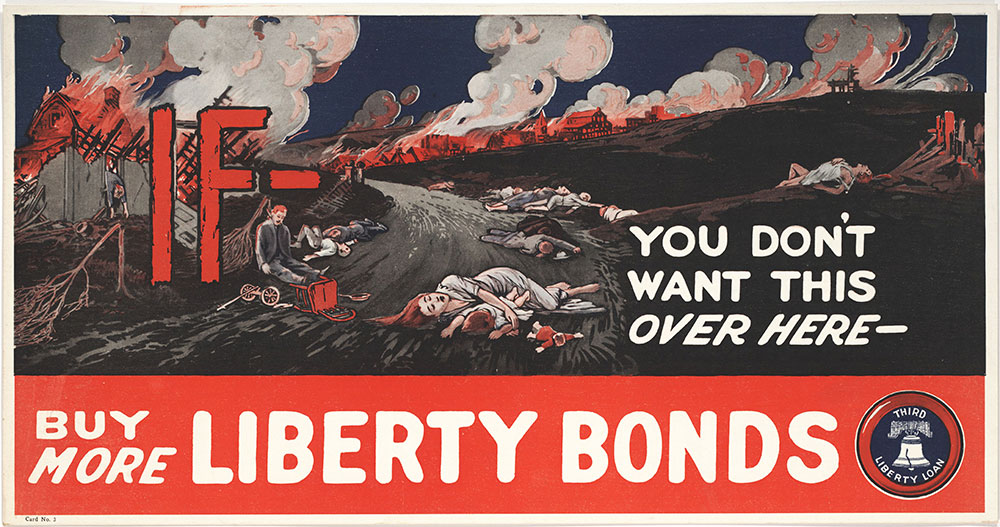 If you don't want this over here, buy more Liberty Bonds