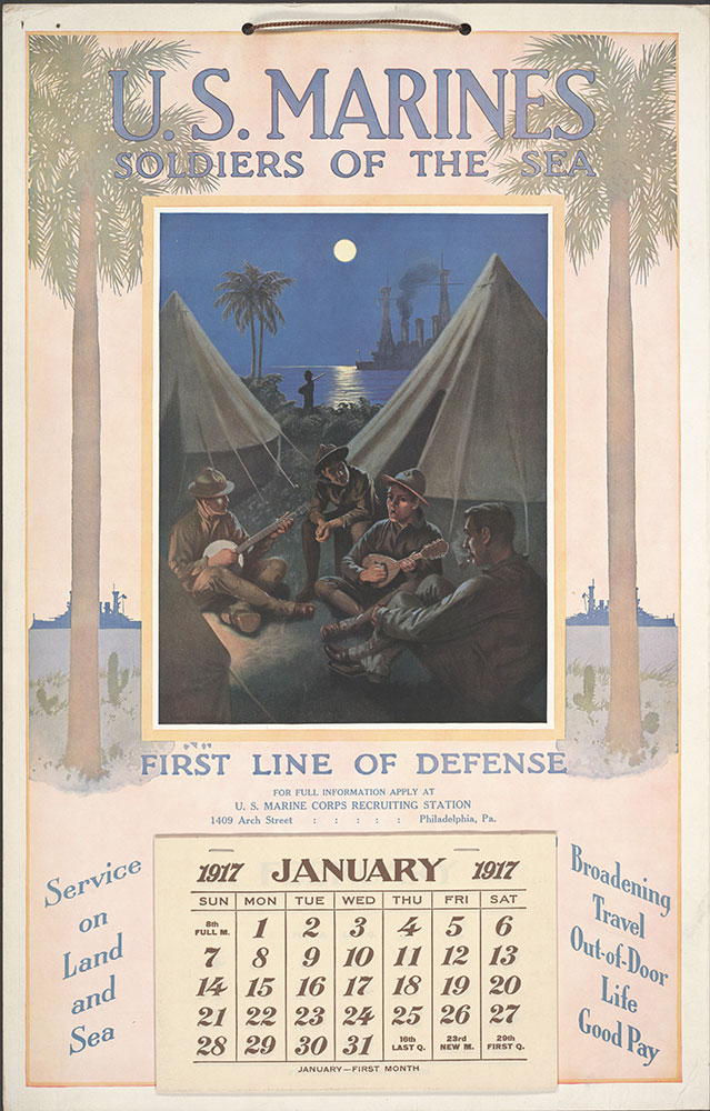 U.S. Marines Soldiers of the Sea