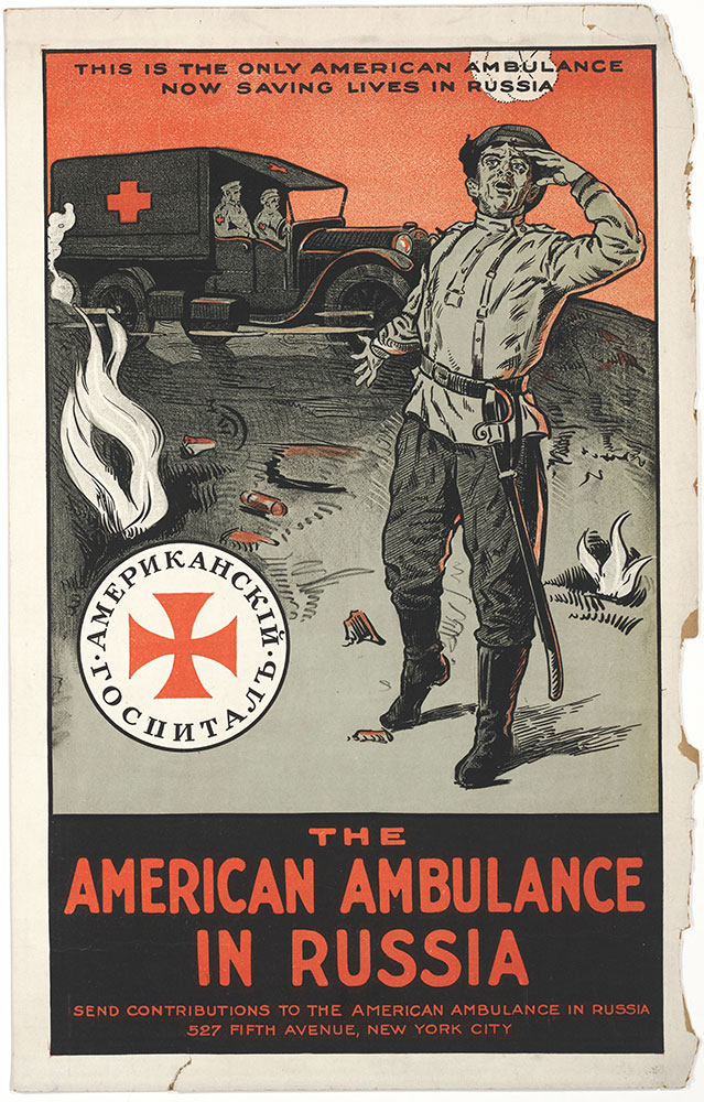 The American ambulance in Russia
