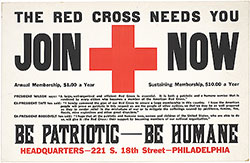 The Red Cross needs you