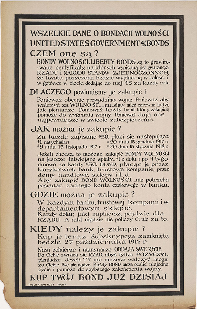 Liberty Bonds (Polish)