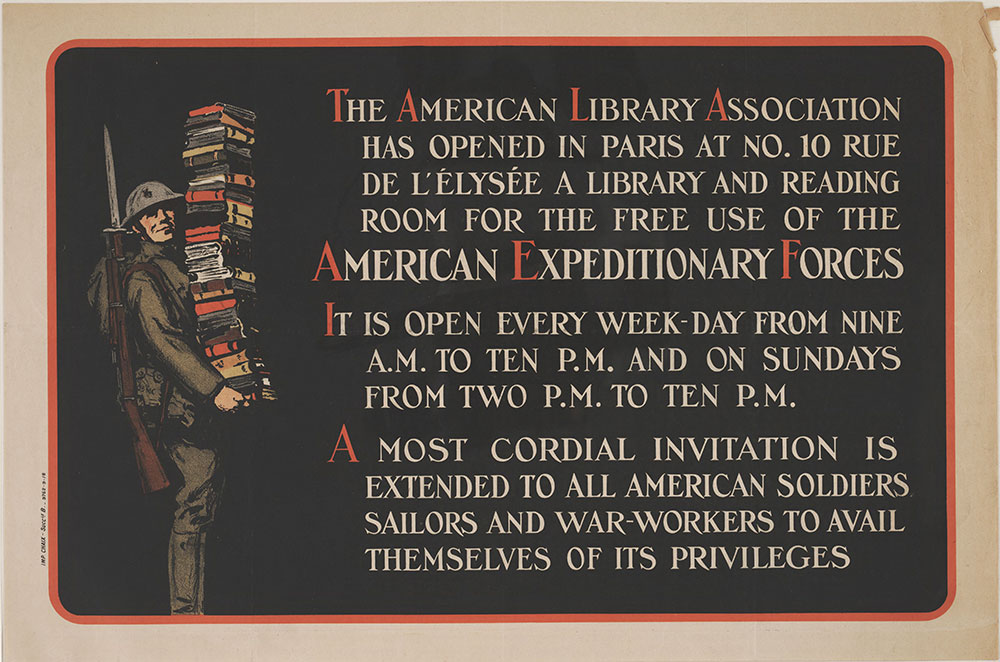 The American Library Association has opened in Paris