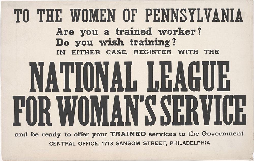 To the women of Pennsylvania