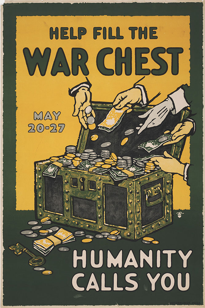 Help fill the war chest